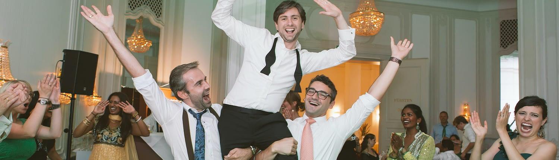 DJ Hannover Hochzeit feiert mit Bräutigam