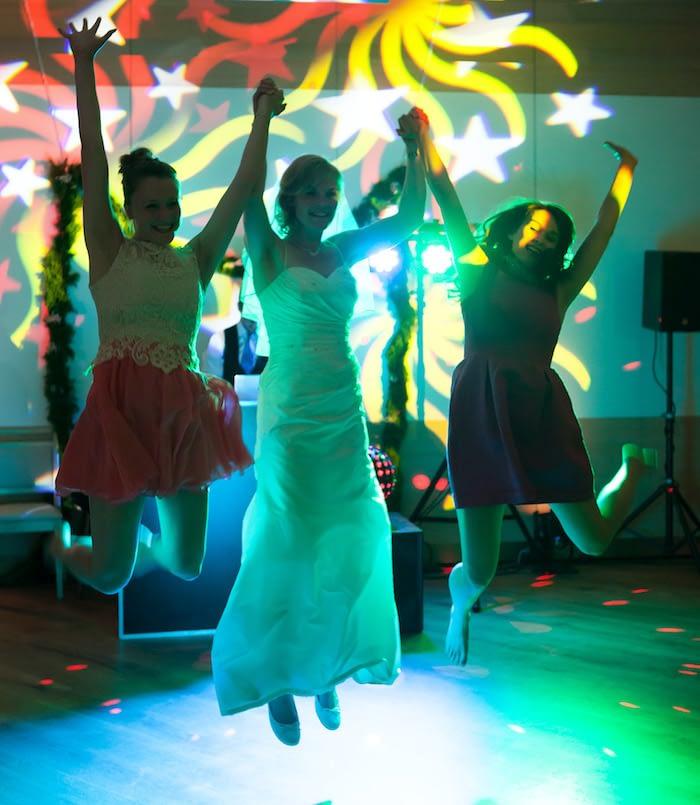 DJ Hannover Hochzeit feiert mit Braut