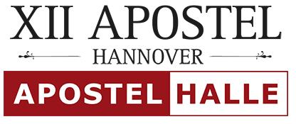 Logo Apostelhalle DJ Abiball Hannover